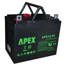 美国APEX蓄电池APX12500 12V50AH参数规格