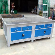 廠家供應A3鋼板維修桌 廣州裝配模具工作臺