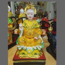 后土圣母佛像 后土娘娘神像 玻璃鋼雕刻