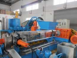 密炼单螺杆碳酸钙高填充母料造粒机