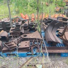 常平廠家廢鐵回收現款結賬-福聯廢品回收