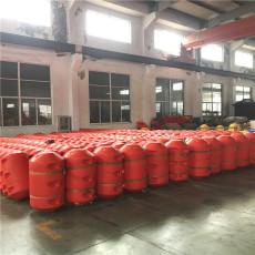 大中型水库水草垃圾拦截网浮筒式拦污排安装