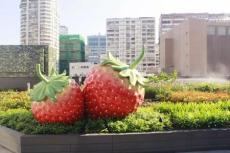 景區裝飾玻璃鋼瓜果蔬菜組合雕塑定制廠家