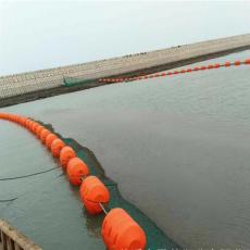 大型水电站库区防倾翻拦污浮排装置