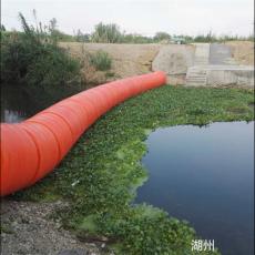 中小型水库拦垃圾浮条河道上游拦污排设计