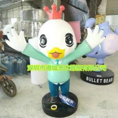 辣子雞招牌菜IP形象吉祥物卡通雞雕塑零售價