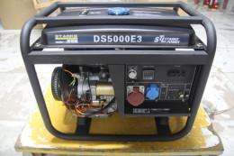 萨登5KW小型开机低噪音汽油发电机备用