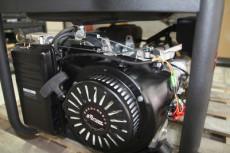 萨登5KW三相便携式低噪音开架汽油发电机组