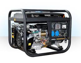萨登6KW小型开架式低噪音汽油发电机组