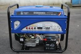 萨登8KW开架式低噪音汽油发电机组