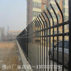 厂家批发小区锌钢围栏 东莞工厂围墙护栏 学