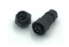 m19螺紋款防水連接器ip68 面板式航空插座