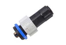組裝式M19防水連接器-T頭三通 信號防水插座