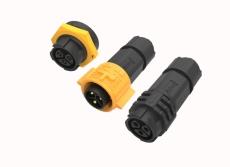 M19接頭 自鎖組裝式防水防塵電信電源連接線
