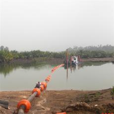 水上组合式清淤浮体海上管道浮漂制作