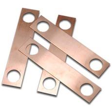 佛山法兰连接片 防静电法兰连接件 紫铜导电