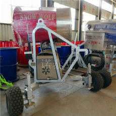 冬季體驗滑雪樂趣 諾泰克人工造雪機全天候