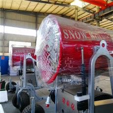 呼倫貝爾滑雪場半自動操作 造雪機