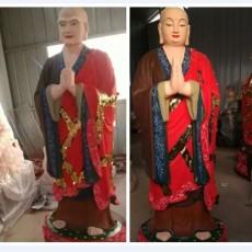 釋迦摩尼佛神像 阿難迦葉佛像 佛祖護法神像