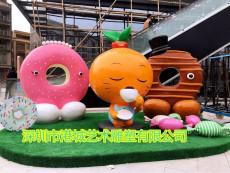 湛江鄉村振興戰略柑橘吉祥物公仔雕塑報價廠